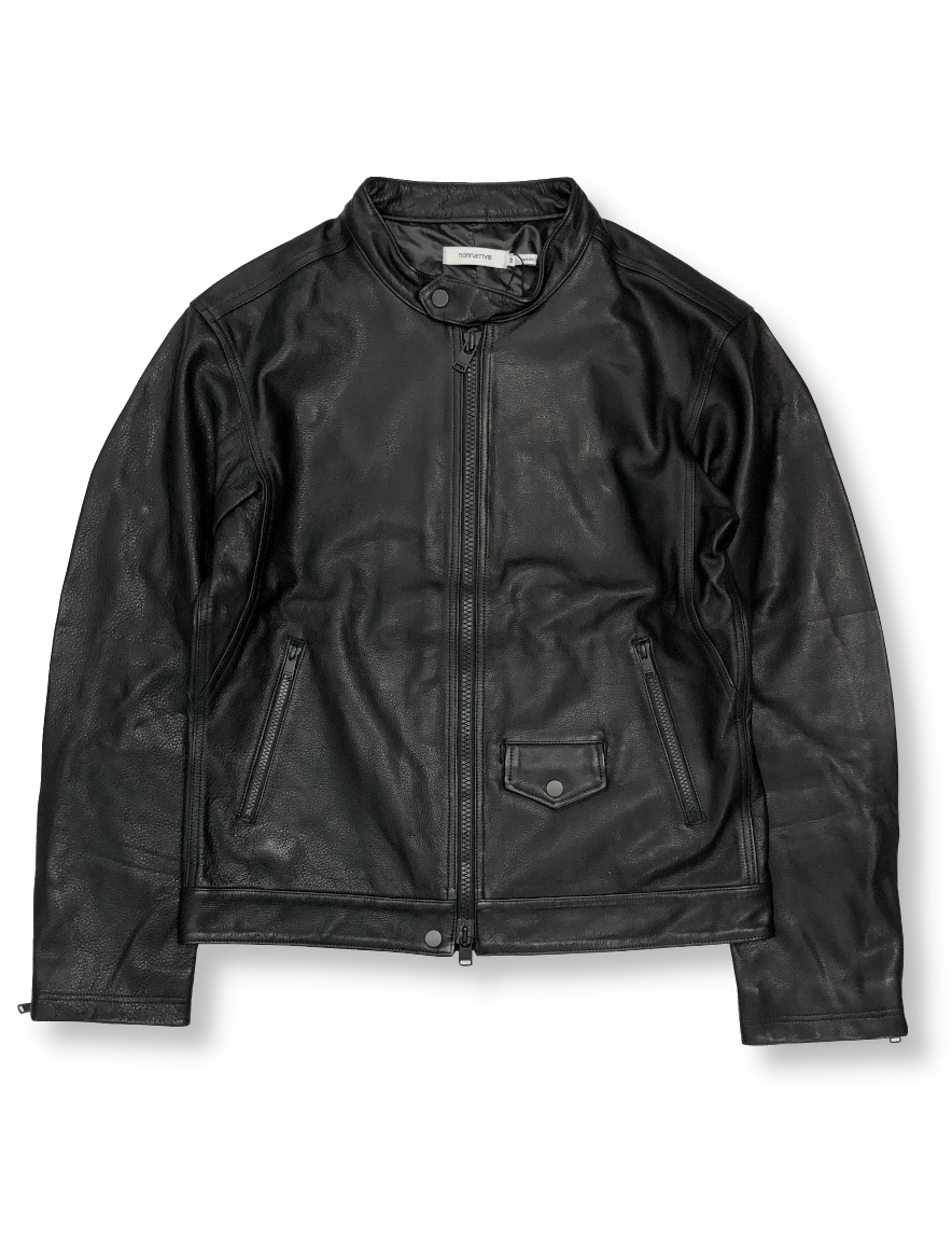 <img class='new_mark_img1' src='https://img.shop-pro.jp/img/new/icons50.gif' style='border:none;display:inline;margin:0px;padding:0px;width:auto;' />nonnative - RIDER BLOUSON COW LEATHER