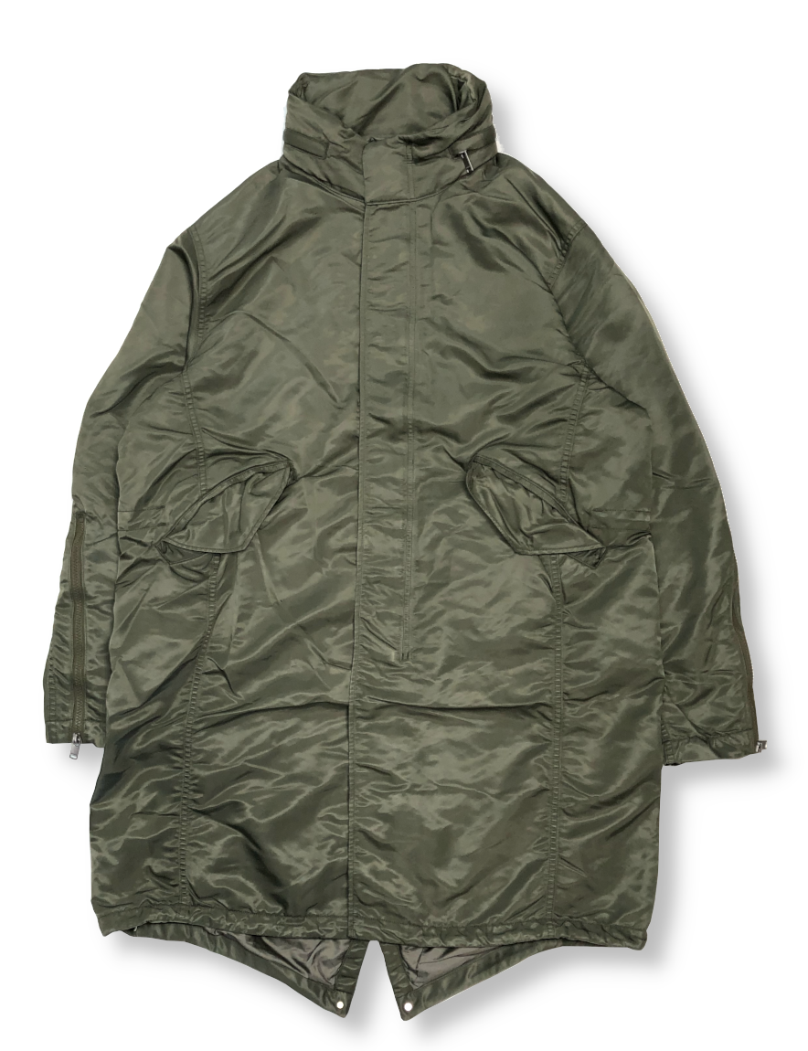 <img class='new_mark_img1' src='https://img.shop-pro.jp/img/new/icons1.gif' style='border:none;display:inline;margin:0px;padding:0px;width:auto;' />nonnative - SOLDIER COAT NYLON TWILL WITH GORE-TEX INFINIUM™ (OLIVE)