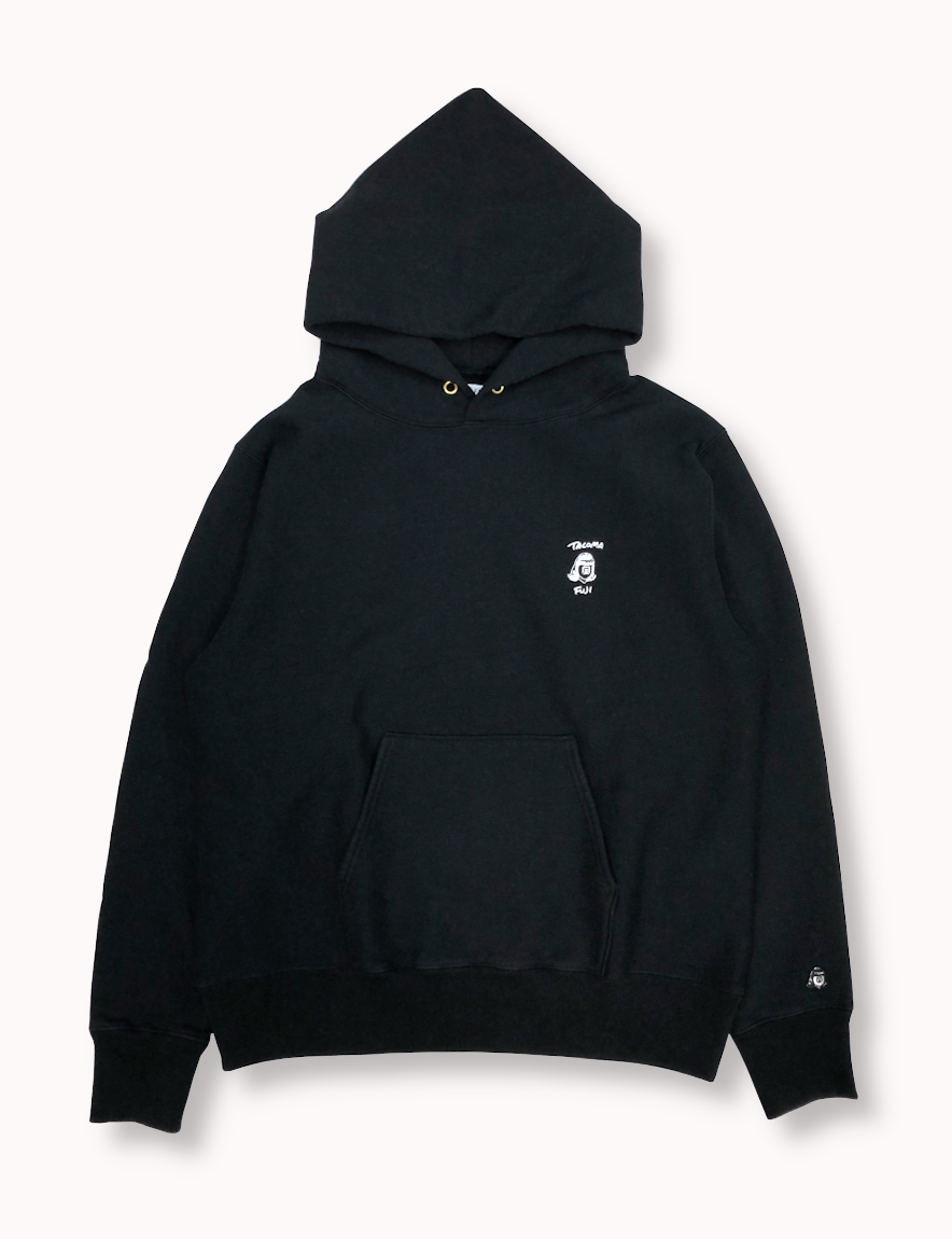 <img class='new_mark_img1' src='https://img.shop-pro.jp/img/new/icons1.gif' style='border:none;display:inline;margin:0px;padding:0px;width:auto;' />TACOMA FUJI RECORDS / TACOMA FUJI HANDWRITING LOGO embroidery HOODIE
