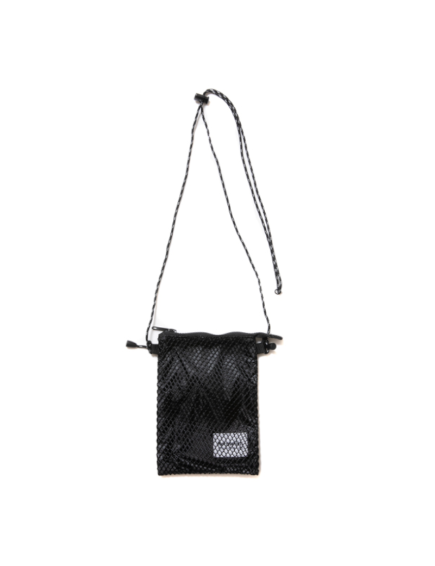<img class='new_mark_img1' src='https://img.shop-pro.jp/img/new/icons1.gif' style='border:none;display:inline;margin:0px;padding:0px;width:auto;' />ROTTWEILER - MESH SHOULDER POUCH (BLACK)