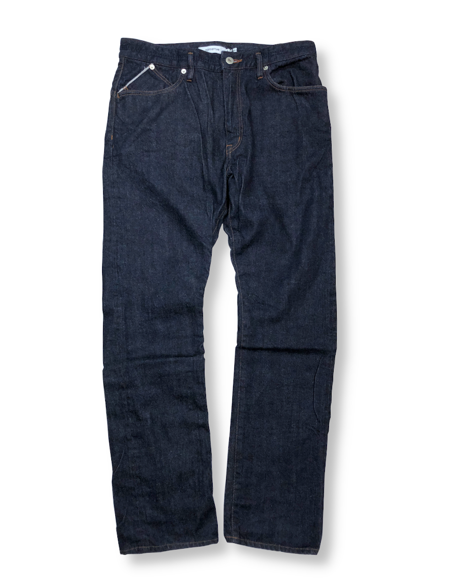 <img class='new_mark_img1' src='https://img.shop-pro.jp/img/new/icons1.gif' style='border:none;display:inline;margin:0px;padding:0px;width:auto;' />nonnative - DWELLER 5P JEANS USUAL FIT COTTON 13oz SELVEDGE DENIM OW