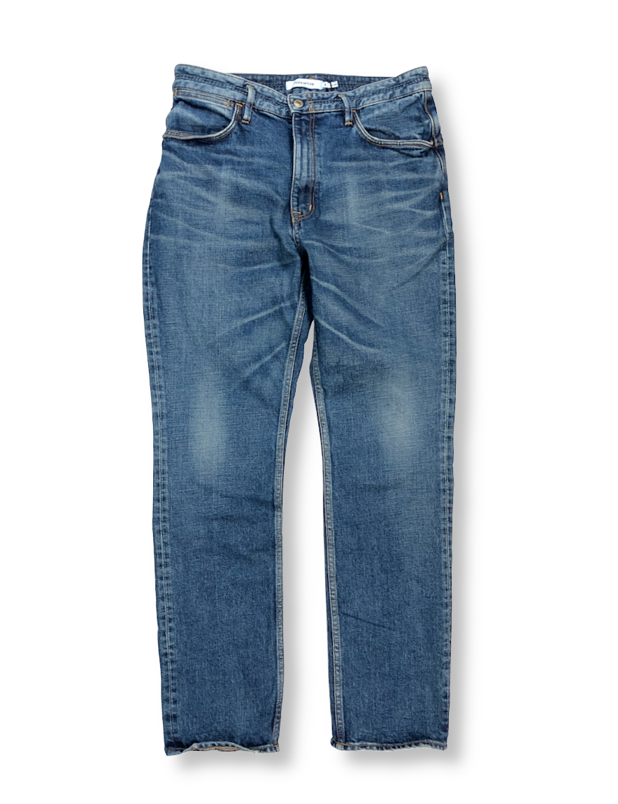 <img class='new_mark_img1' src='https://img.shop-pro.jp/img/new/icons50.gif' style='border:none;display:inline;margin:0px;padding:0px;width:auto;' />nonnative - DWELLER 5P JEANS DROPPED FIT C/P 13oz DENIM STRETCH VW 'JAMIE'