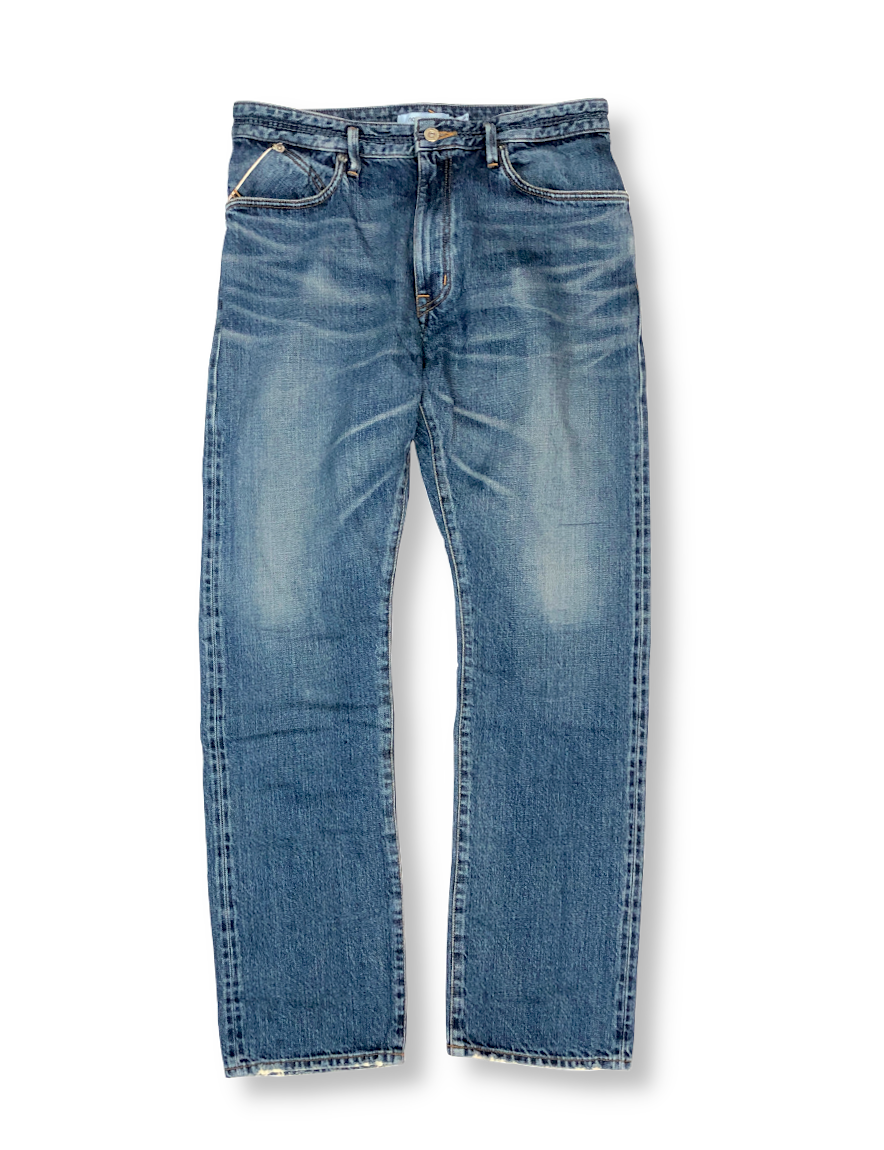 <img class='new_mark_img1' src='https://img.shop-pro.jp/img/new/icons1.gif' style='border:none;display:inline;margin:0px;padding:0px;width:auto;' />nonnative - DWELLER 5P JEANS USUAL FIT COTTON 13oz SELVEDGE DENIM VW 'JAMIE'