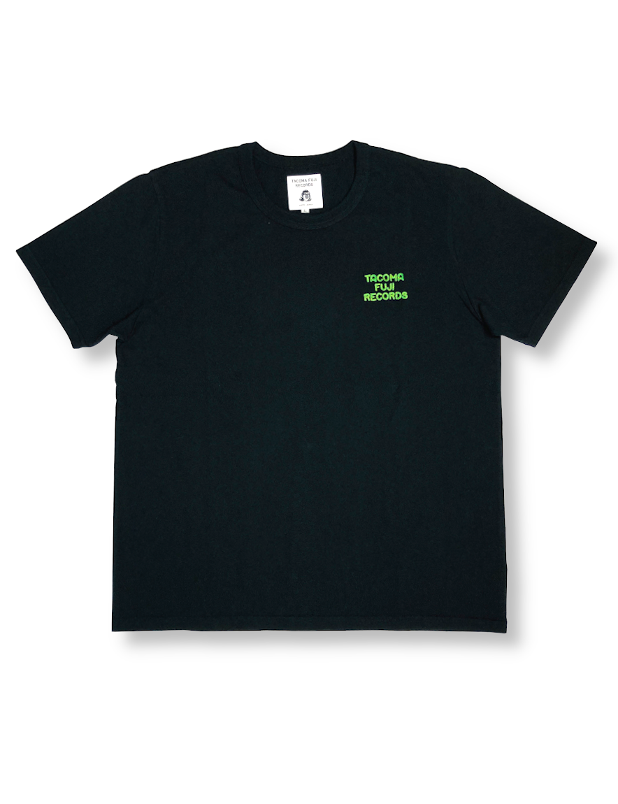 <img class='new_mark_img1' src='https://img.shop-pro.jp/img/new/icons50.gif' style='border:none;display:inline;margin:0px;padding:0px;width:auto;' />TACOMA FUJI RECORDS / TACOMA FUJI ZEBRA LOGO embroidery Tee designed by Jerry UKAI