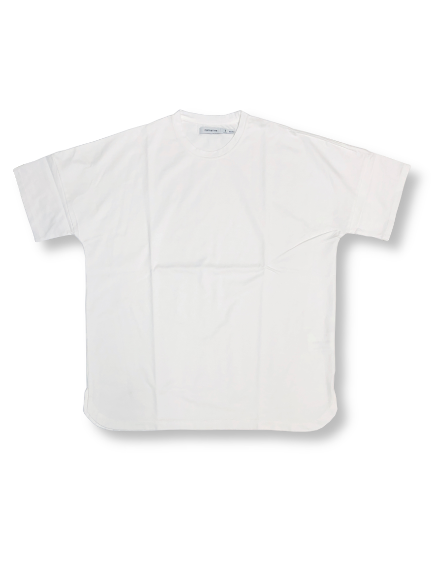 <img class='new_mark_img1' src='https://img.shop-pro.jp/img/new/icons1.gif' style='border:none;display:inline;margin:0px;padding:0px;width:auto;' />nonnative - CLERK S/S TEE COTTON JERSEY (WHITE)
