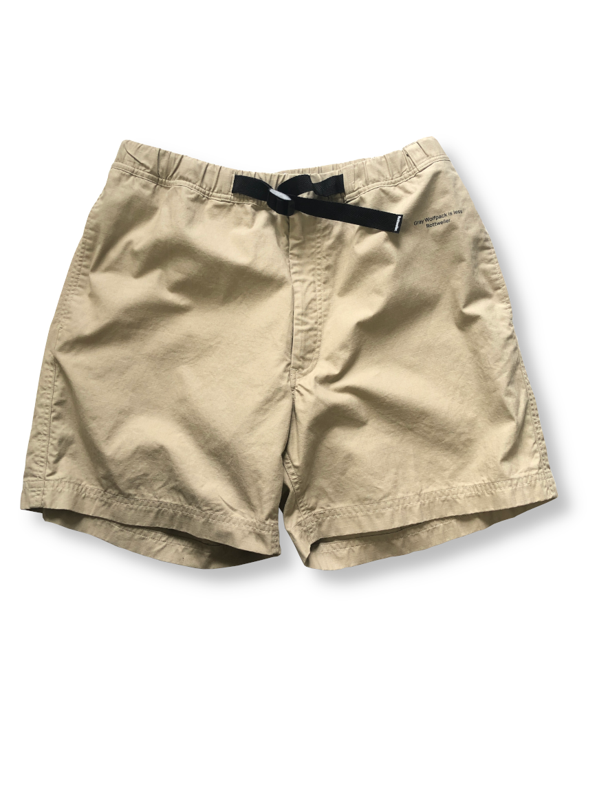 <img class='new_mark_img1' src='https://img.shop-pro.jp/img/new/icons1.gif' style='border:none;display:inline;margin:0px;padding:0px;width:auto;' />ROTTWEILER - RIPSTOP CLIMBING SHORTS (BEIGE)