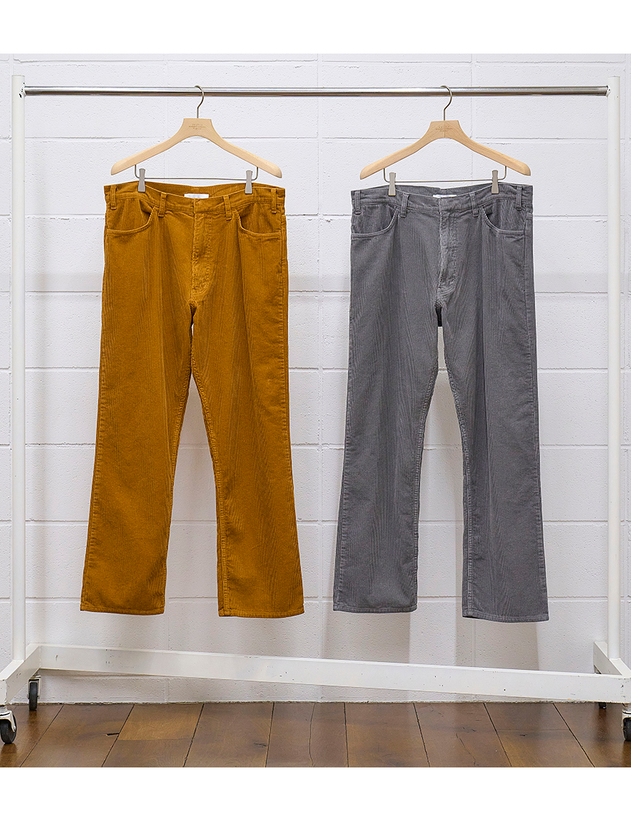 <img class='new_mark_img1' src='https://img.shop-pro.jp/img/new/icons1.gif' style='border:none;display:inline;margin:0px;padding:0px;width:auto;' />UNUSED - corduroy Pants (GRAY)