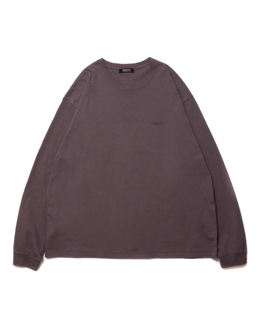 <img class='new_mark_img1' src='https://img.shop-pro.jp/img/new/icons1.gif' style='border:none;display:inline;margin:0px;padding:0px;width:auto;' />ROTTWEILER - DYED LS TEE 2 (BURGUNDY)