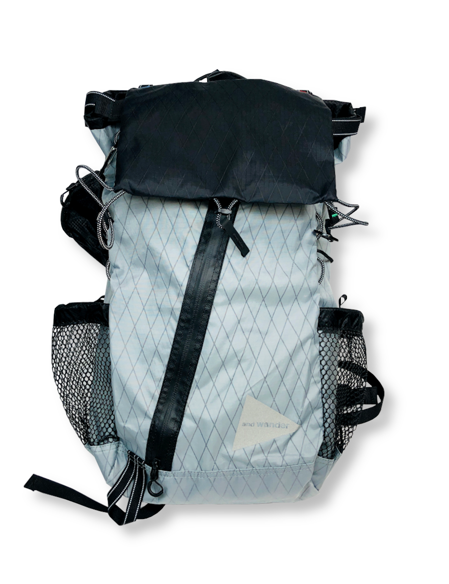 <img class='new_mark_img1' src='https://img.shop-pro.jp/img/new/icons50.gif' style='border:none;display:inline;margin:0px;padding:0px;width:auto;' />and wander - X-Pac 30L backpack (GRAY)