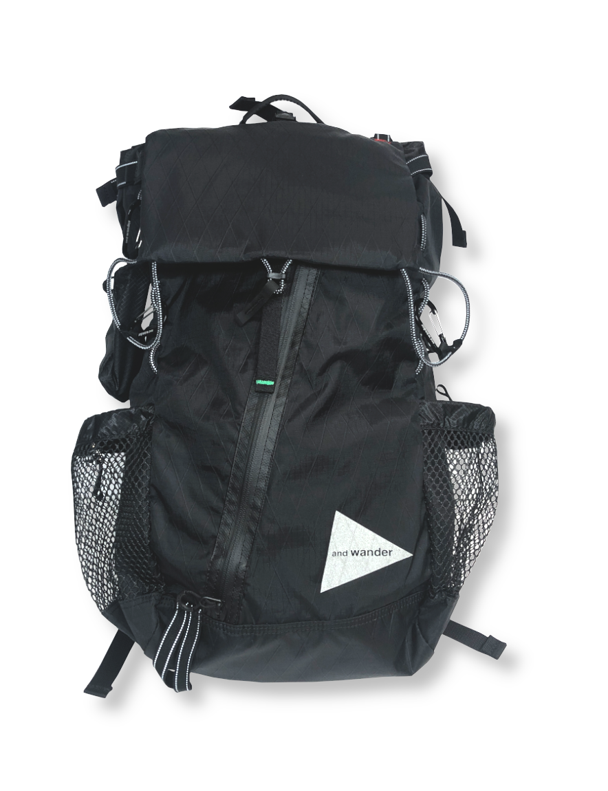 <img class='new_mark_img1' src='https://img.shop-pro.jp/img/new/icons50.gif' style='border:none;display:inline;margin:0px;padding:0px;width:auto;' />and wander - X-Pac 30L backpack (BLACK)