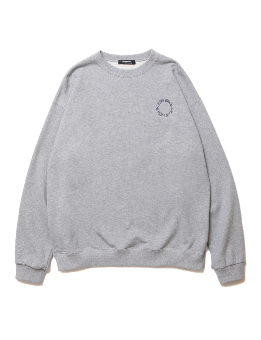 <img class='new_mark_img1' src='https://img.shop-pro.jp/img/new/icons1.gif' style='border:none;display:inline;margin:0px;padding:0px;width:auto;' />ROTTWEILER - CIRCLE SWEATER (GRAY)