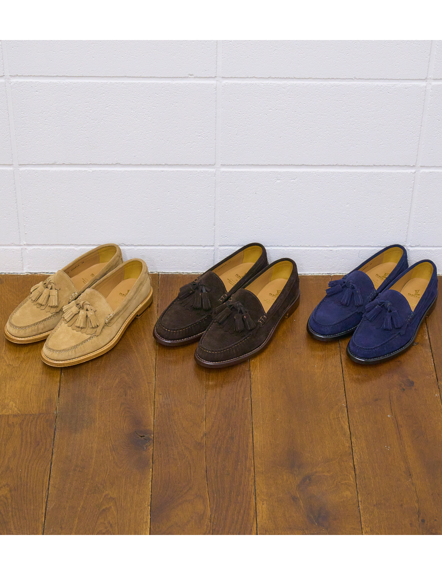 <img class='new_mark_img1' src='https://img.shop-pro.jp/img/new/icons50.gif' style='border:none;display:inline;margin:0px;padding:0px;width:auto;' />UNUSED - Quilt tassel loafer (BEIGE)