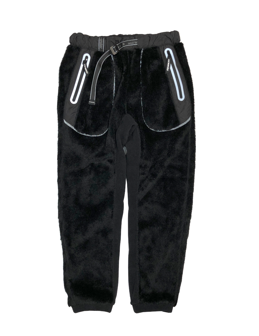 <img class='new_mark_img1' src='https://img.shop-pro.jp/img/new/icons1.gif' style='border:none;display:inline;margin:0px;padding:0px;width:auto;' />and wander - high loft fleece pants